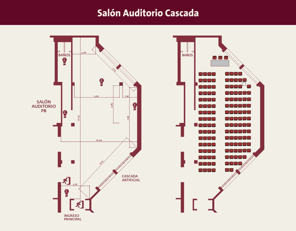 salon cascada