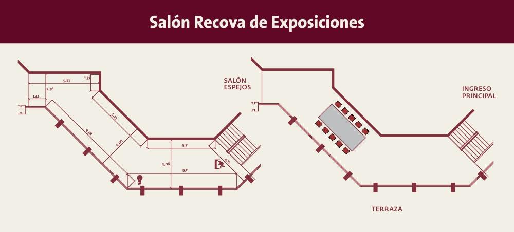salon recova de exposiciones