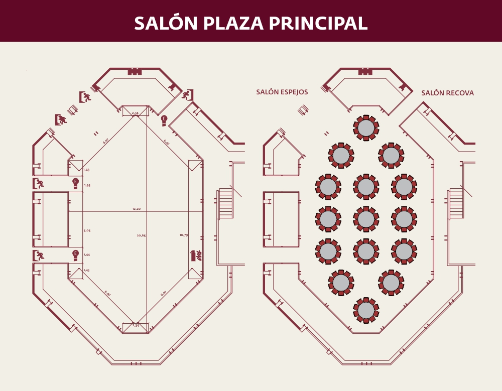 salon plaza principal